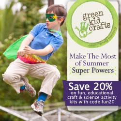 Green Kid Crafts - Greg's Green Living