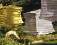 Silk Effects Solar Lanterns - Square