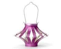 Soji Starburst Solar Lantern - Pack of 2 - Purple