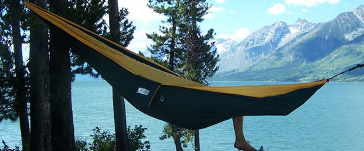 Tread Lightly – Camp in a Hammock!