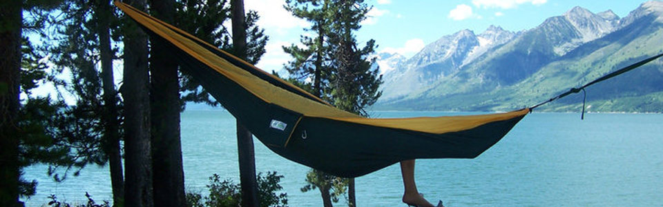 Tread Lightly – Camp in a Hammock!