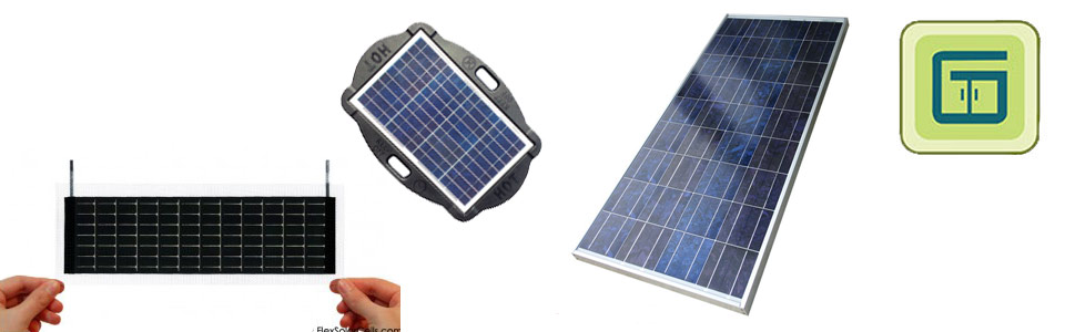 Solar Panels & Flex Solar Cells