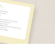 Eco-Friendly Baby Shower Invitations