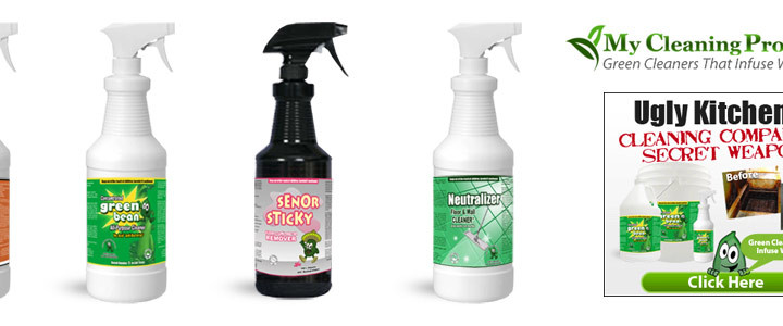 Eco-Friendly Kitchen Cleaning Products